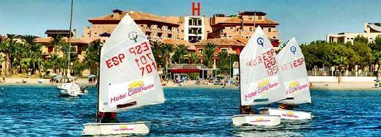 Hotel Costa Narejos: Fachada desde la playa