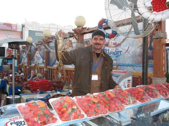 Fish Market: Friendly stuff