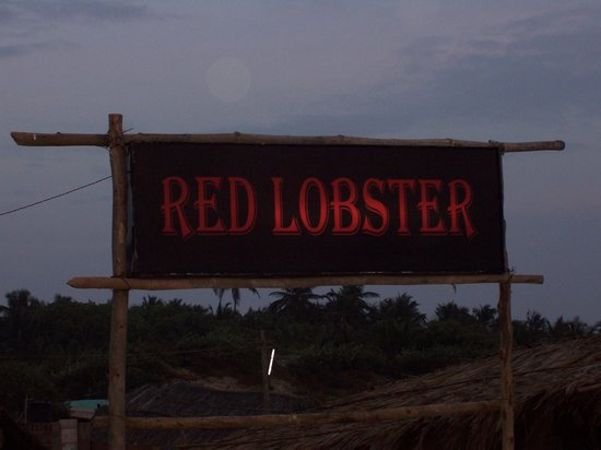 Red Lobster: The sign of the beach restaurant