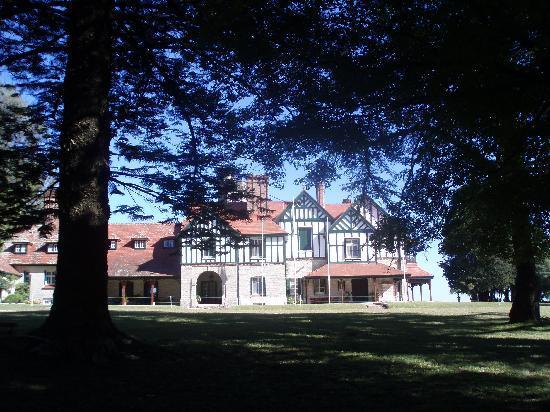 Parque Anchorena: Vista de la casa descanso presidencial