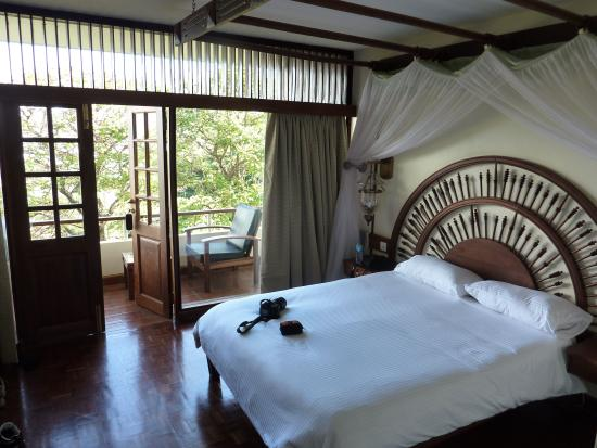 Lake Manyara Hotel: our room