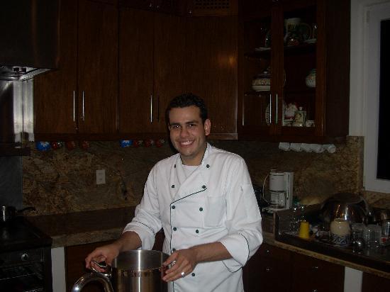 Villa Balboa : Chef Cristhian
