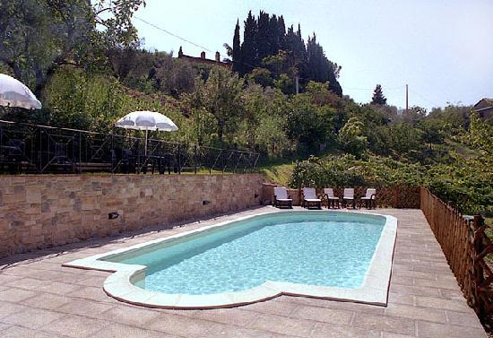 Villa Nuba Charming Apartments: The new swimming pool with salt water - Villa Nuba vacation rental in Perugia
