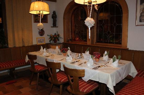 Pension Krinserhof: Dining Room