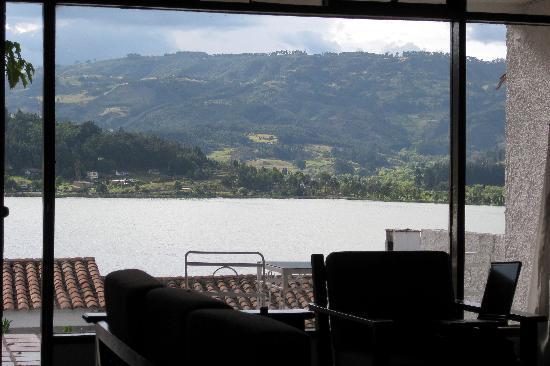 D'Acosta Hotel Sochagota: View from inside of the cabana