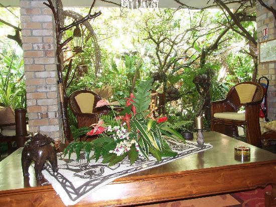 Fenua Mata'i'oa : la terrasse de notre chambre