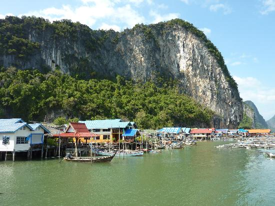 Ao Nang, Thaïlande : Koh Panyee - village on stilts