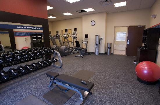 Hampton Inn Greenville: State of the art fitness center