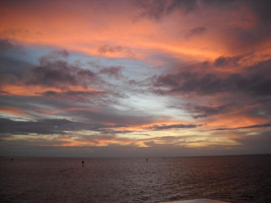 Sunset Christmas Eve from The Marco Island Princess