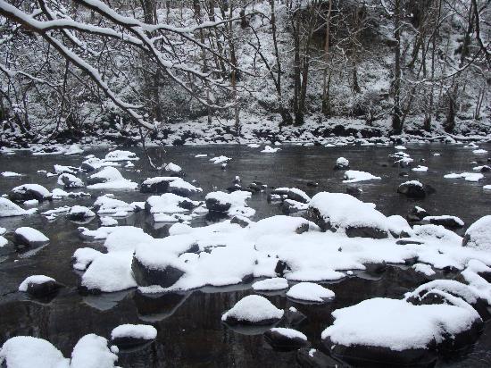 Balquhidder Braes Scottish Holiday Park: Just one of the impressive sites