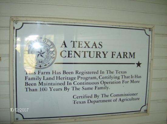 Crockett, TX: Jennifer's family farm in Texas