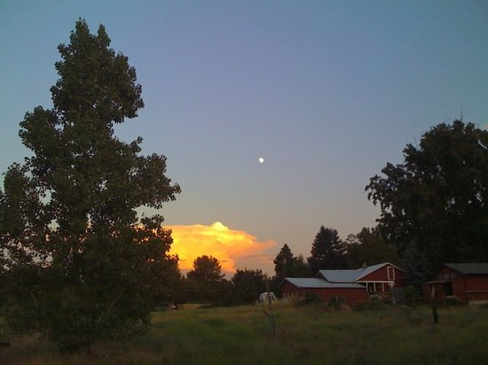 Evening in Ashland July 3rd.