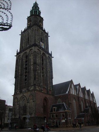 Groningen, Hollanda: The Martini Tower
