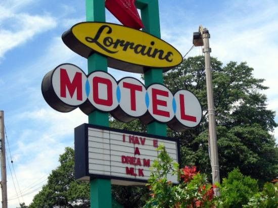 Lorraine motel memphis tn picture of national civil for Motels near graceland memphis tn