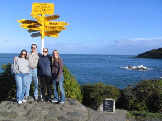 Bluff, New Zealand: Very South tip of the South Island.