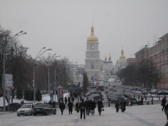 See The Site In Kiev In 9 Degree Weather Picture Of