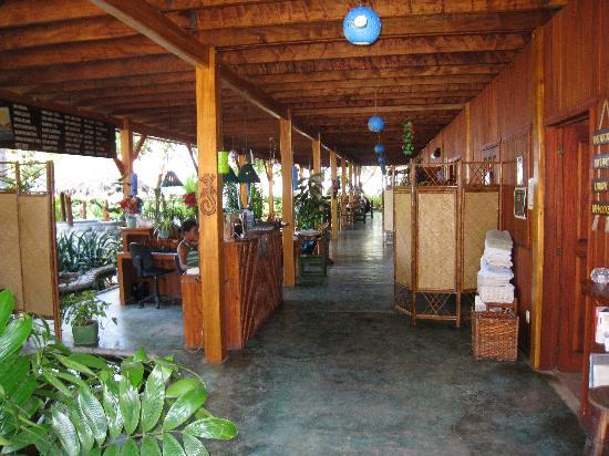 Hotel Banana Azul: Hotel lobby/bar/restaurant