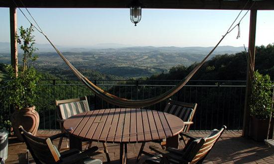 Scansano, Italien: Casablu, terrazza