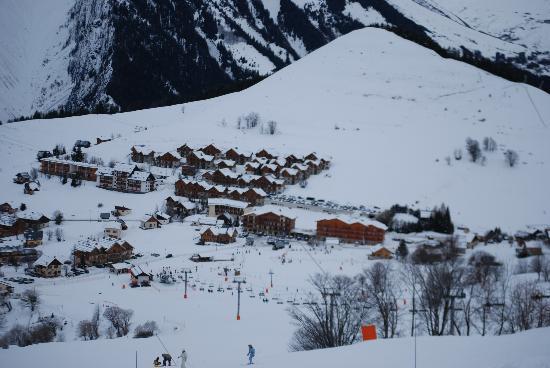 Résidence Le Hameau des Aiguilles : Albiez Montrond (Le Mollard) depuis les pistes