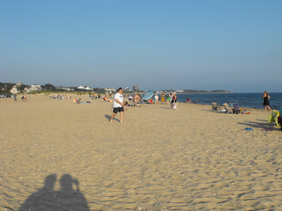 Centerville, MA: Craigville Beach late in the day