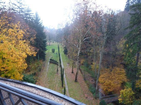 Pavillon de la Rotonde : View from the Suite