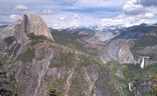 San Andreas, Kalifornien: Half Dome, Vernal and Nevada Falls