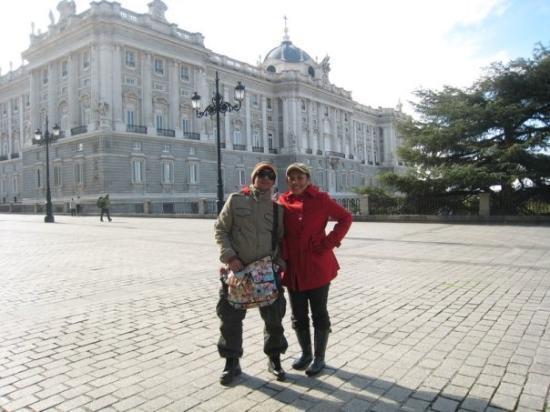 Royal Palace of Madrid: Palacio Real .. from the entrance