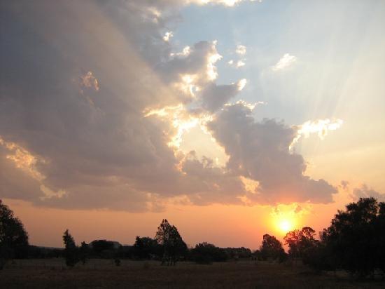 Sunset 1 at  GRATEFUL - Christian Guest House (Sipreslaan Langenhoven Park / Bainsvlei, Bloemfon