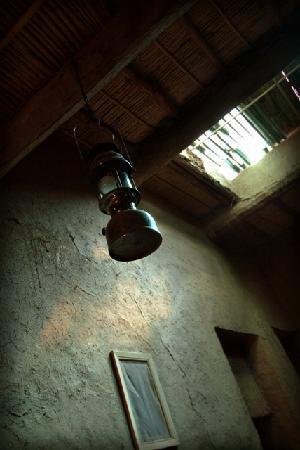Chez Youssef: lampe typique