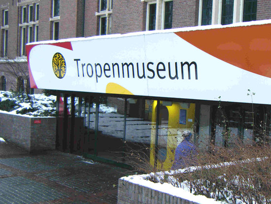 Tropenmuseum: Entrance to museum