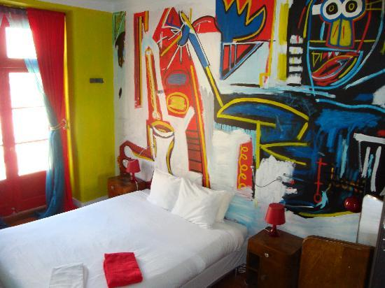 Artbeat Rooms: Basquiat room