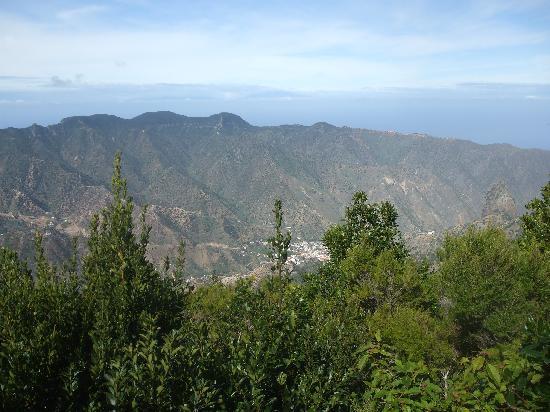 scenery of la gomera