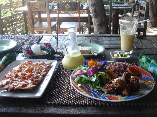 Bohol Bee Farm: How my Food Looked like...yummy