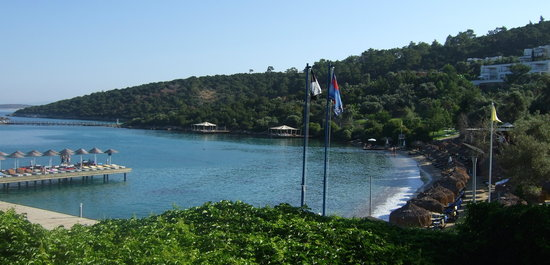 Rixos Premium Bodrum: the beach
