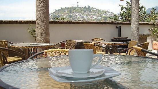 Hotel Casa San Marcos: En el Café :)