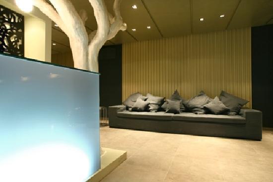 Bourtzi Boutique Hotel: Lobby