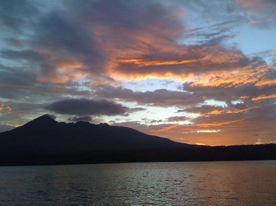Isletas El Roble: sunset