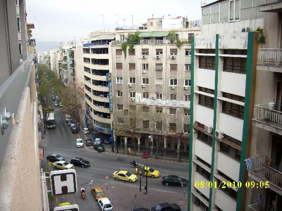 Ionis Hotel: view from the balcony 1