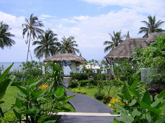 Samaya Bura: Weg zum Pool und Strand