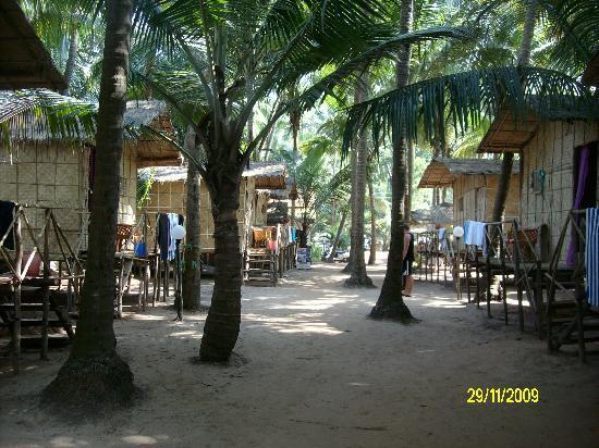 Mandrem Beach shack