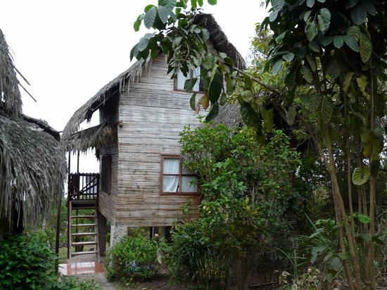 Finca Punta Ayampe: our cabin