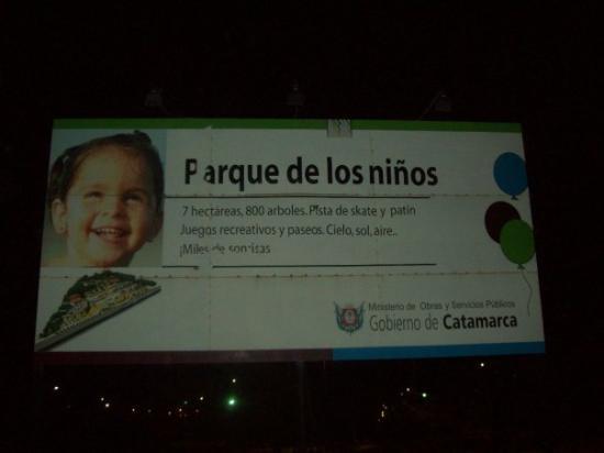 San Fernando del Valle de Catamarca, Argentina: parque de los children