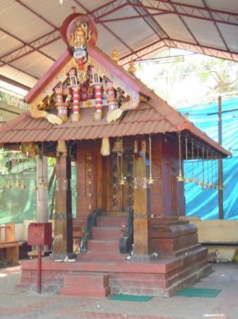 Kannur, India: A temple