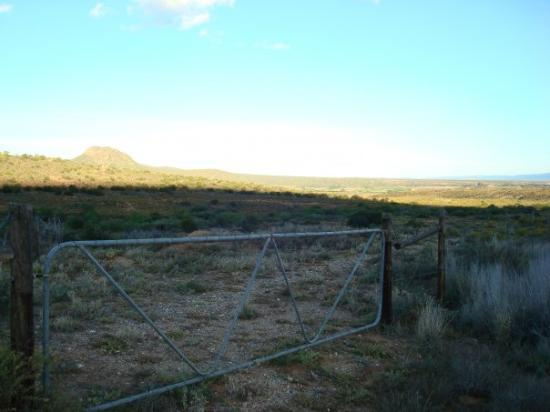 Entrance to our land in Calitzdorp