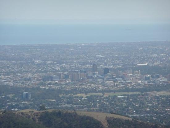 The tall bit in the distance is adelaide city.