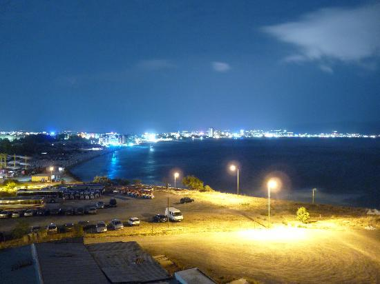Balcony night view picture of festa panorama nessebar for Balcony night view