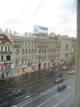Nevsky Forum Hotel: View from the room