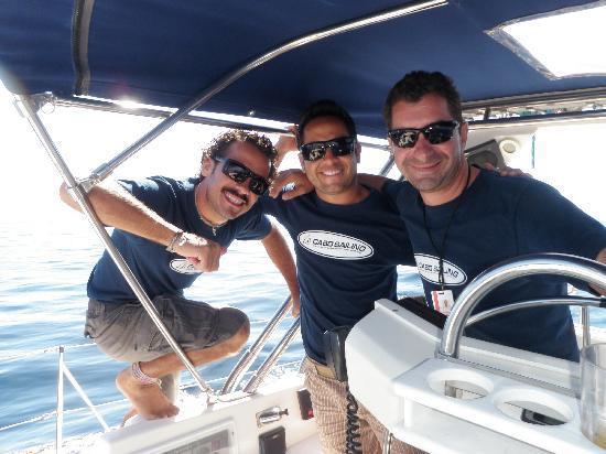Cabo Sailing Ocean Adventures: The crew