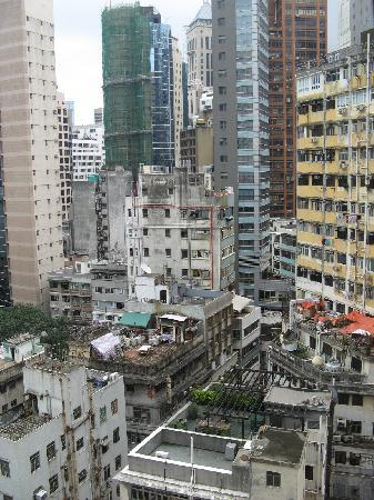 Shama Central Serviced Apartment: View from the apartment window