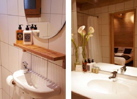 More Mountain - Chalet Robin : Beautiful Bathrooms and L'Occitane Toiletries